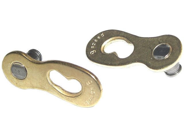 Wippermann Connex Link Kettenverschluss 9-fach gold